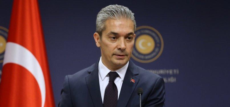 TURKEY SLAMS GREECE FOR STANDING WITH ARMENIAN OCCUPIERS IN KARABAKH DISPUTE