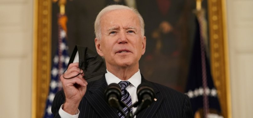 BIDEN: ALL ADULTS IN U.S. ELIGIBLE FOR CORONAVIRUS VACCINE BY APRIL 19