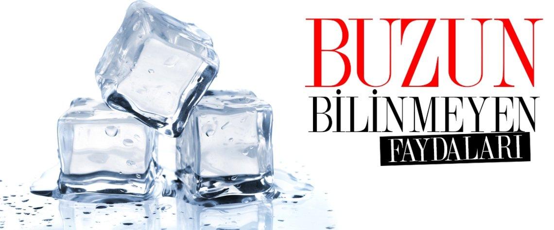 Her gün bir buz küpünü vücudunuzdaki bir bölgeye koyduğunuzda sizi gençleştireceğini ve enerji ile dolduracağınız biliyor musunuz?