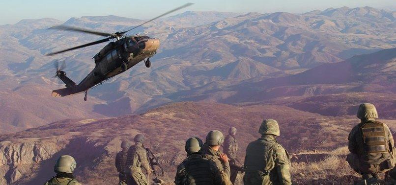 9 PKK TERRORISTS KILLED IN ANTI-TERROR OPERATIONS IN SOUTHEASTERN TURKEY
