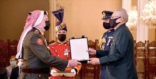 Pakistan confers medal on Jordan's military chief