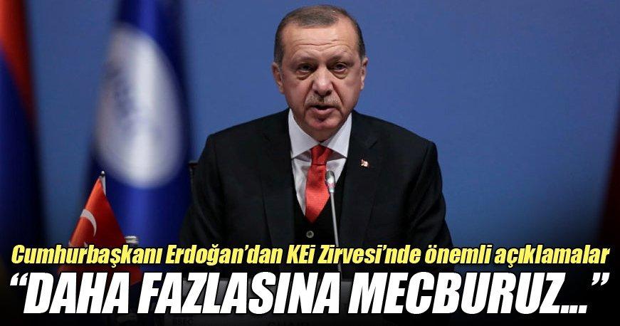 Cumhurbaşkanı Erdoğan: Karadeniz'e çok şey borçluyuz