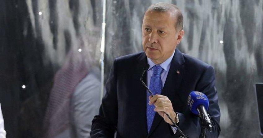 Cumhurbaşkanı Erdoğan: 'Dünyanın istikrarı bu bölgeye bağlı'