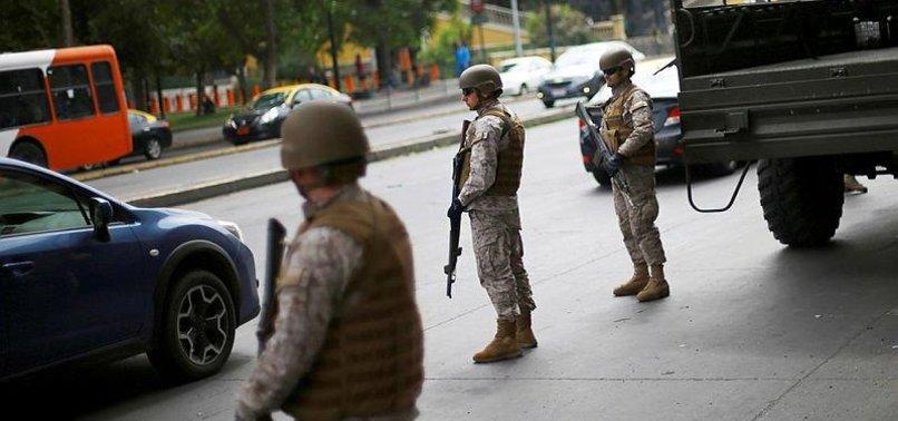 VIOLENT PROTESTS ERUPT IN CHILE DESPITE STATE OF EMERGENCY