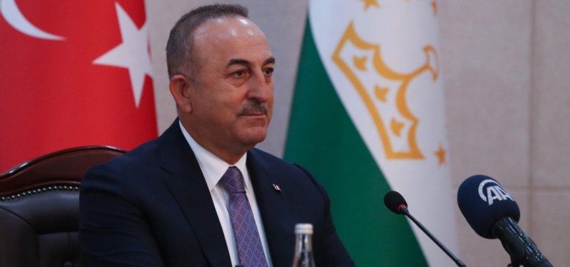 FOREIGN MINISTER ÇAVUŞOĞLU MEETS HIS INDIAN COUNTERPART