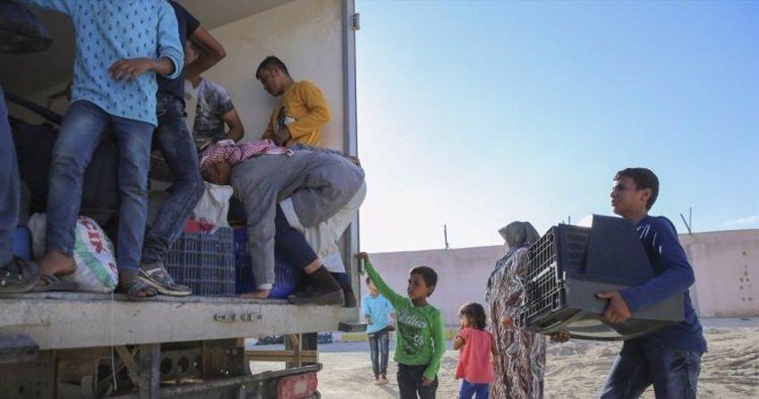 PYD'den kaçanlar Cerablus'a sığınıyor