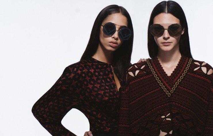 İlhamını 1970'li yılların modasından alan FENDI Runaway güneş gözlükleri kış güneşine feminen bir selam gönderiyor!