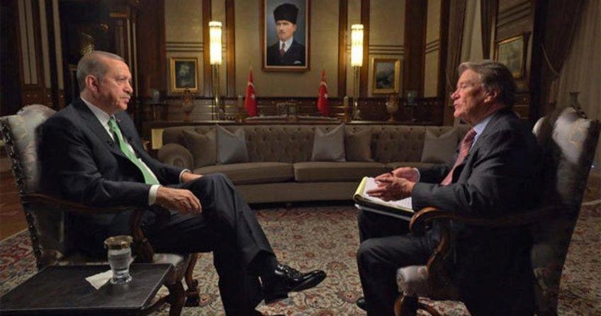ABD'nin CBS kanalına, Erdoğan önemli açıklamalar yaptı