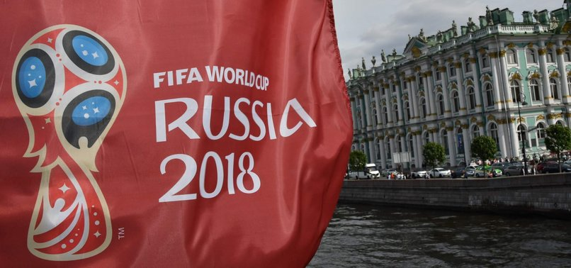 RUSSIAN FANS PIN HIGH HOPES ON TEAM IN FIFA WORLD CUP