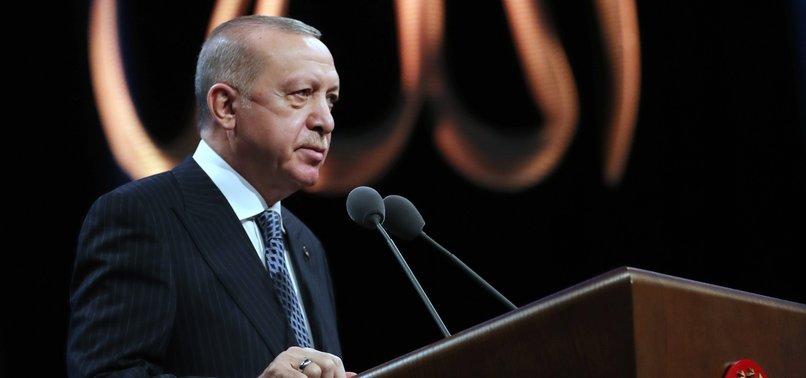TURKEYS ERDOĞAN CONGRATULATES ENTIRE ISLAMIC WORLD ON EID AL-FITR