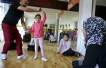 Migrant children dance their hearts out in Turkey