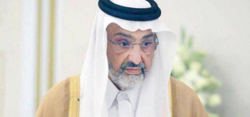 QATARI SHEIKH SAYS BEING DETAINED IN UAE