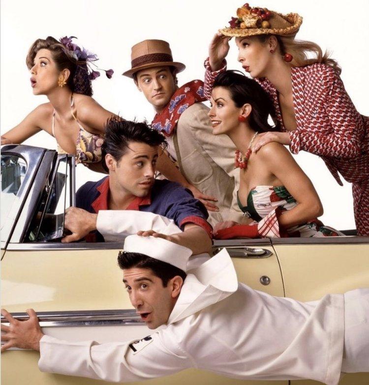 Friends dizisi corona virüsü engeline takıldı!
