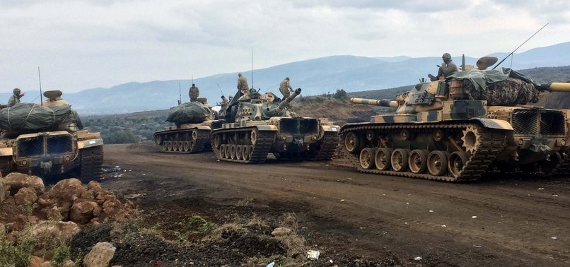 VILLAGERS IN AFRIN HAIL TURKEYS ONGOING OPERATION