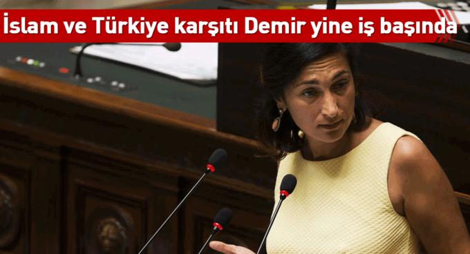 İslam ve Türkiye karşıtı Demir yine iş başında