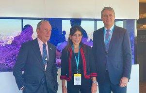 Türkiye'nin potansiyeli  Bloomberg International'da konuşuldu