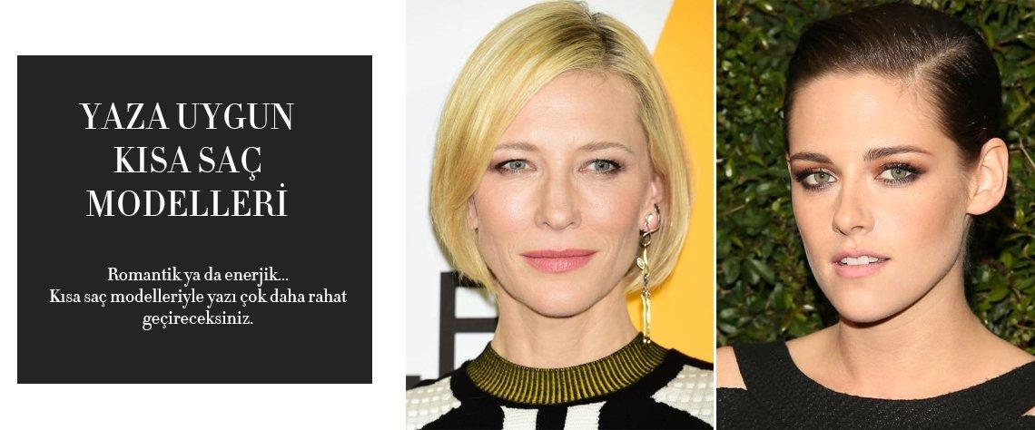 """""""Yaza uygun en güzel kısa saç modelleri"""" haberi için lütfen tıklayın......"""