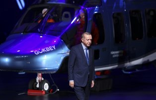 President Erdoğan introduces Turkey's first indigenous multi-purpose helicopter  'Gokbey'