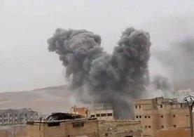 Suriye'nin El Bab bölgesinin güneyindeki DEAŞ hedefleri savaş uçakları tarafından ateş altına alındı