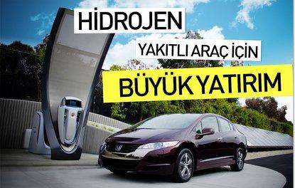 Hidrojen yakıtlı araç için büyük yatırım