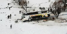 6 killed, 20 injured after bus tips over in Turkey's Muş