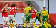 Arsenal hammer Norwich City 4-0 in London