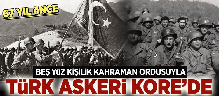 Türk askeri Kore'de