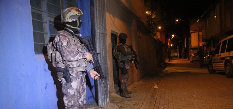 8 SUSPECTS ARRESTED IN ISTANBUL FOR AIDING PKK