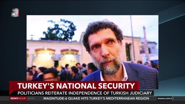 Turkey summons 10 ambassadors over remarks on Kavala case
