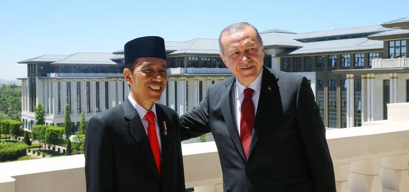 ERDOĞAN SPEAKS WITH MUSLIM LEADERS OVER PHONE TO EXCHANGE EID AL-ADHA GREETINGS