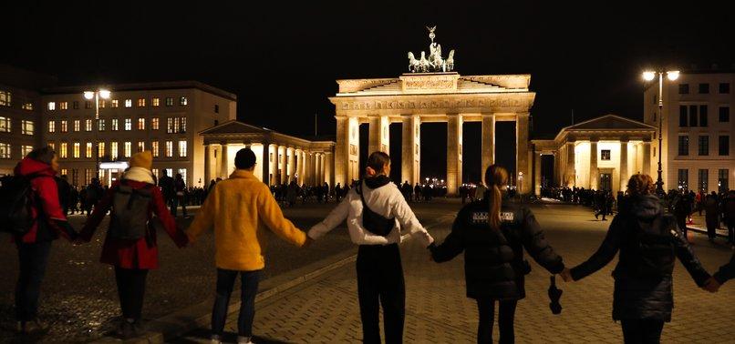 VIGILS IN GERMANY AFTER FAR-RIGHT EXTREMIST TERROR ATTACK IN HANAU