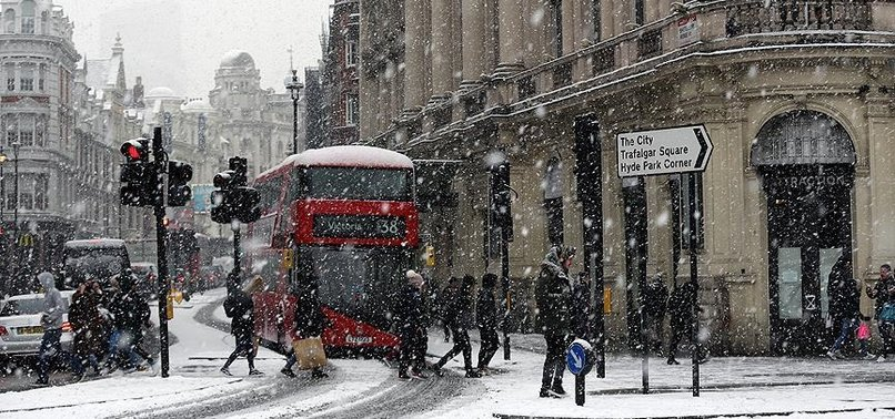 RECORD-SETTING COLD WEATHER CONTINUES TO GRIP EUROPE