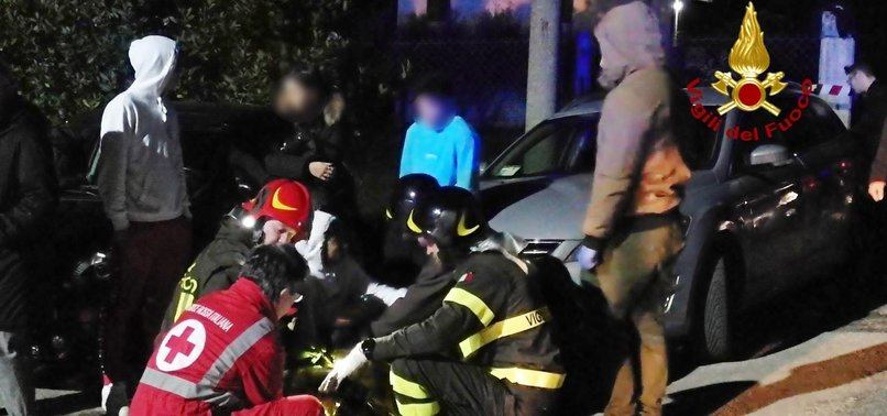 6 DEAD, DOZENS HURT IN NIGHTCLUB STAMPEDE ON ITALYS COAST