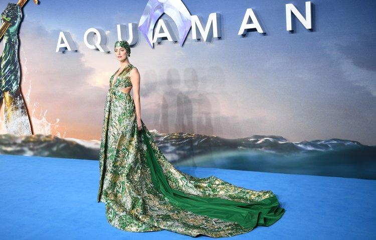 Aquaman galası gerçekleşti