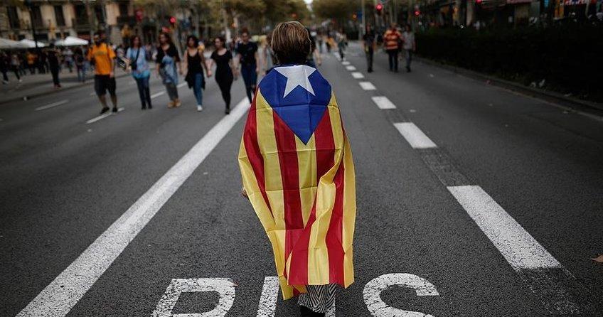 Katalonyada genel grev ilan edildi