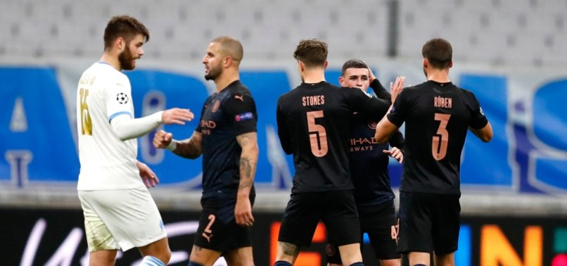 CITY THRASH WOEFUL MARSEILLE TO STAY TOP IN CHAMPIONS LEAGUE GROUP C