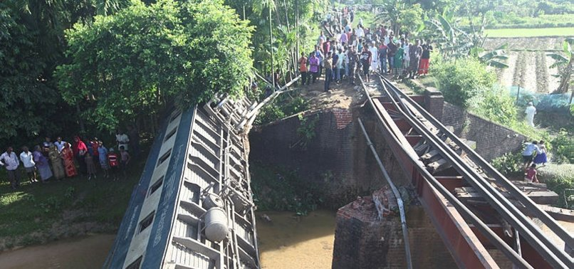 4 KILLED, OVER 100 INJURED IN BANGLADESH TRAIN ACCIDENT