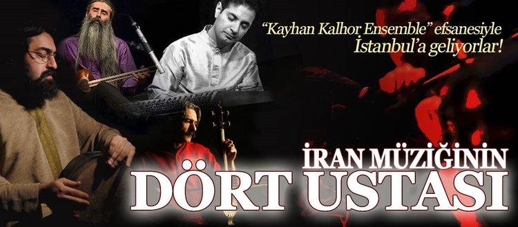 İran müziğinin önemli ustaları İstanbul'da