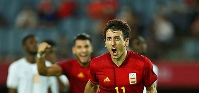 Spain, Brazil advance to semifinals of Olympic mens soccer