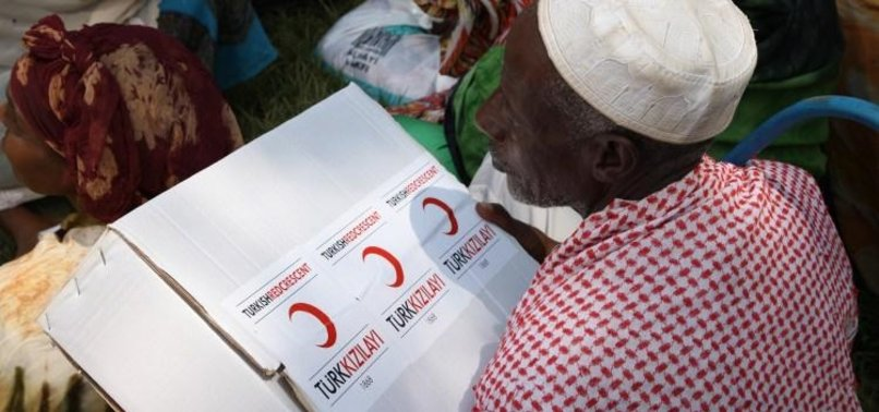 TURKISH RED CRESCENT EXTENDS A HELPING HAND TO 2.1 MLN NEEDY PEOPLE ACROSS WORLD