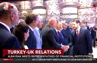 Minister Albayraks visit to UK - anews