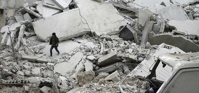 REGIME ATTACKS HALT FRIDAY PRAYERS IN SYRIA'S EASTERN GHOUTA