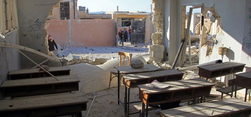 SYRIAN REGIME SHELLS IDLIB SCHOOL, 2 CHILDREN KILLED
