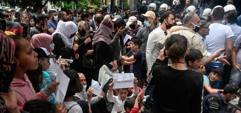 GREECE TO EVICT OVER 10,000 REFUGEES FROM SHELTERS