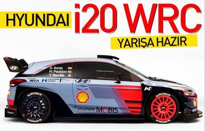 HYUNDAİ İ20 WRC YARIŞA HAZIR