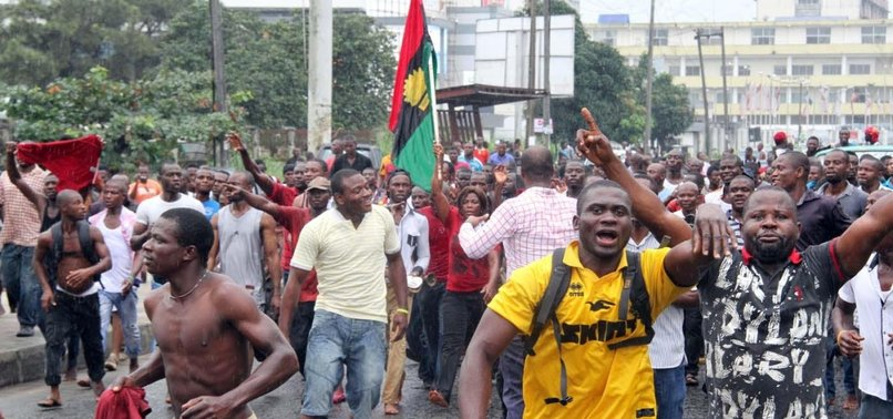 WORKERS IN NW NIGERIA PROTEST OVER MINIMUM WAGE