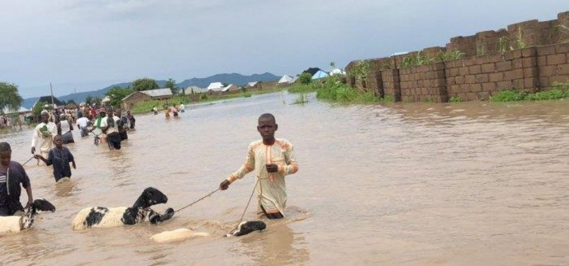NIGERIAS DEATH TOLL FROM FLOODS RISES TO 30