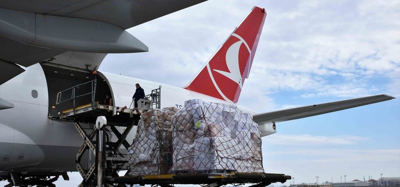 TURKISH CARGO AIRLIFTS MEDICAL AID TO CHINA'S GUANGZHOU