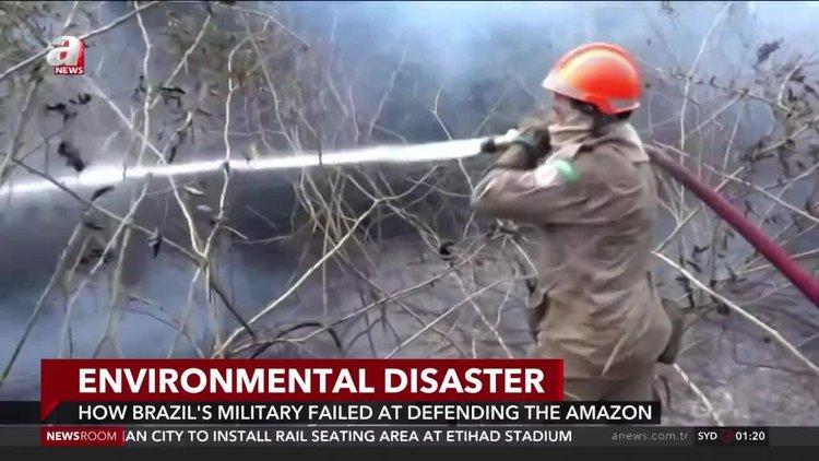 Brazil's military fails in key mission: halting Amazon deforestation