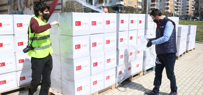 TURKISH AID AGENCY TIKA SENDS PROTECTIVE GEAR TO LESOTHO